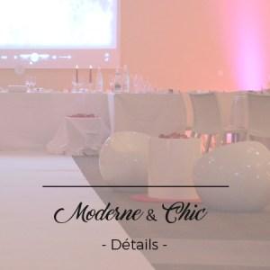 moderne chic décoration mariage toulouse événement