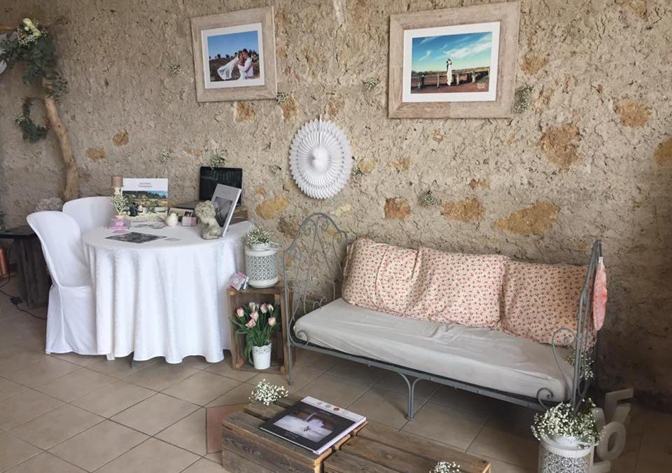 Le salon du mariage du domaine de l'Ale
