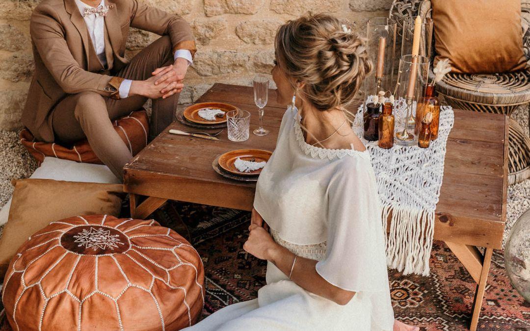 Inspiration mariage thème bohème