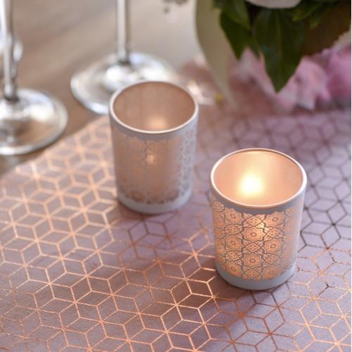 chemin de table carreau de ciment rose les couleurs du mariage mariage et reception