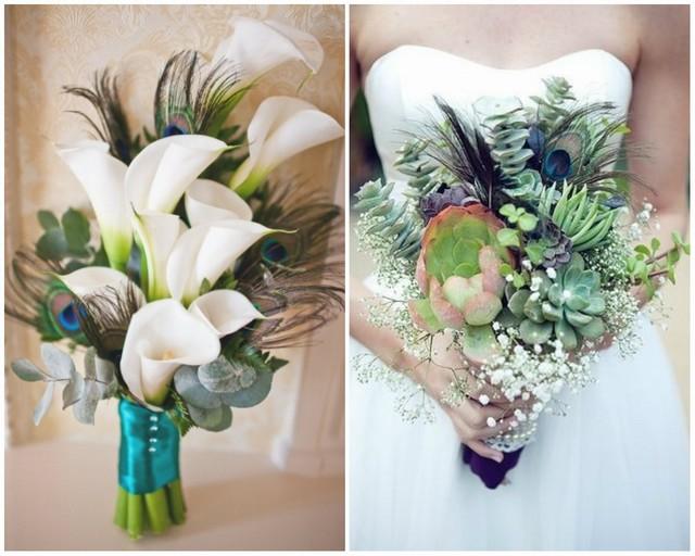 Bouquet Mariage Plum De Paon Mariage Faire Part Mon