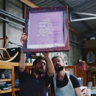 la charette atelier serigraphie mobile nantes animation vin d'honneur