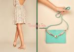 Notre pochette Eléonore - Vous qui aimez être en accord avec votre sac à main et vos chaussures, voici notre pochette qui est proposé dans le coloris de votre choix selon notre palette de couleurs.