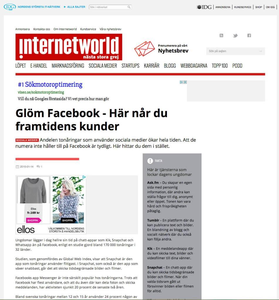 artikel internetworld