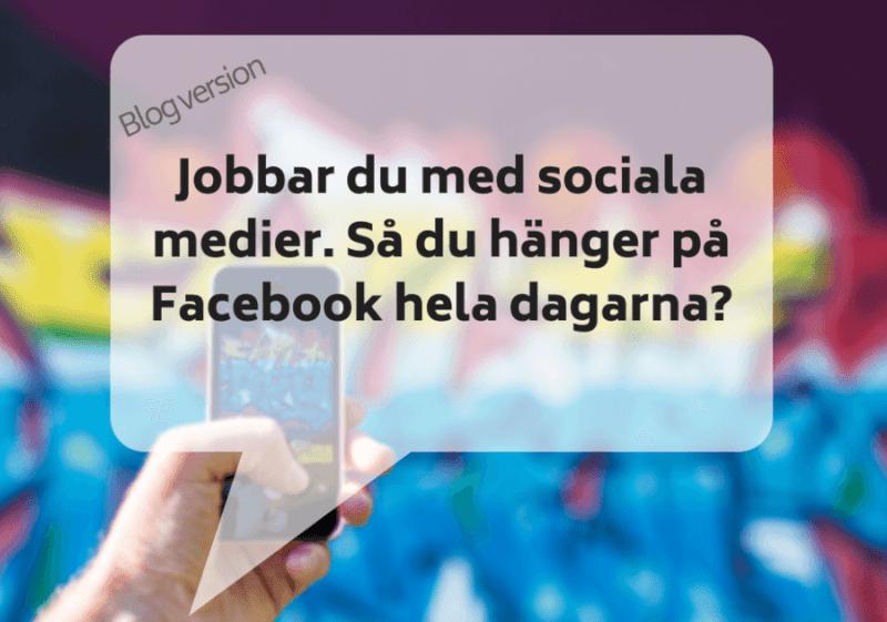 sociala medier har flera dimensioner
