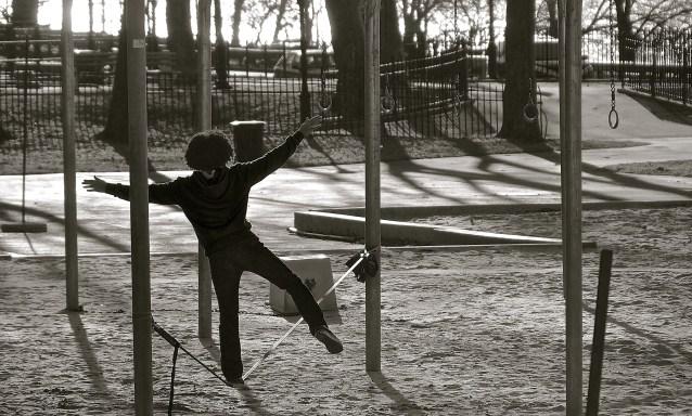 Master tightrope walking.
