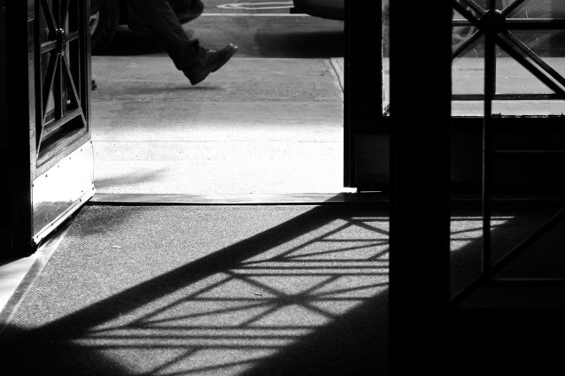 Day 359:2 one foot out the door