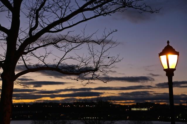 Day 348:3 riverside sunset