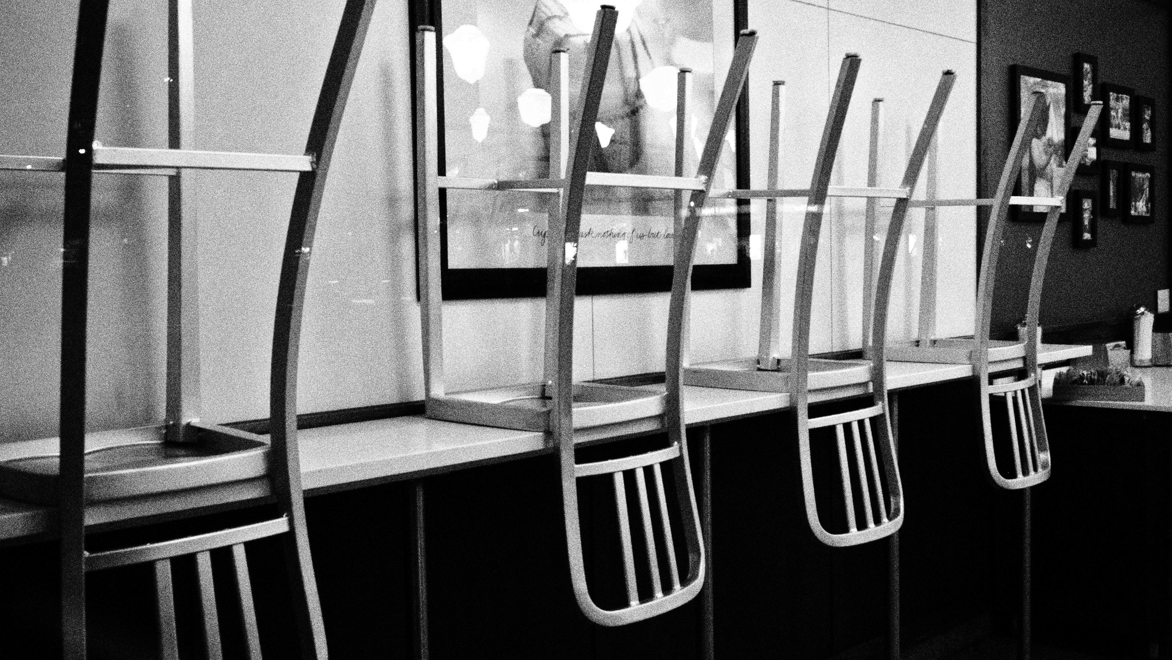 chair rail upside down feet covers day 324 the chairs that no one sits in maria giacchino