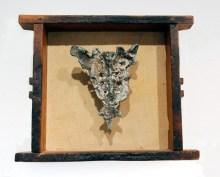 Sacrum, bronze in drawer