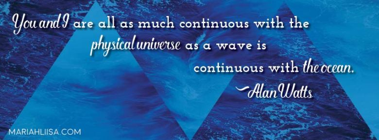 Alan Watts Quote Facebook Cover Image