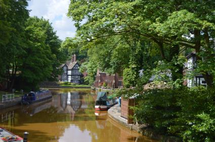 Worsley and the Bridgewater Canal
