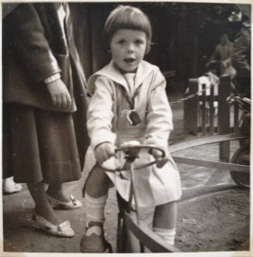 Me at the playground 1955 in Tivoli