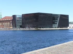 Christian's Brygge a view to the Royal Danish Library