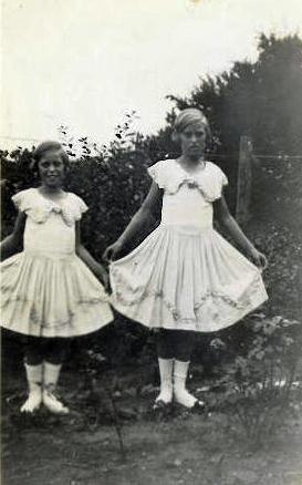 Ruth and Eva 1930s