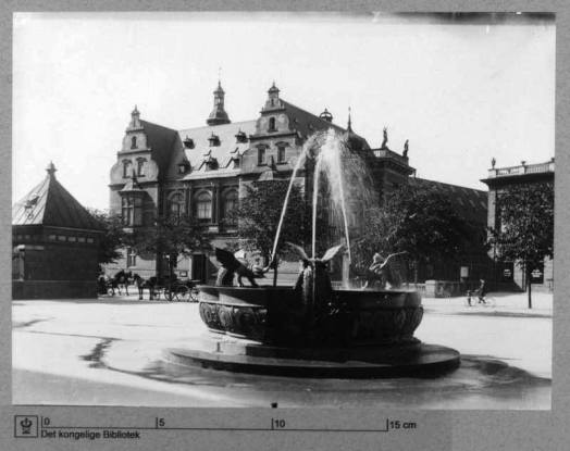 From the start of the Fountain