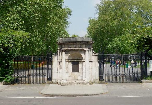 What's left from the Foundlings' Hospital