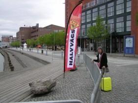 Half way through in Gothenburg