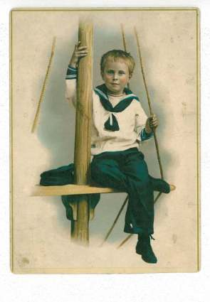 A postcard to my great grandfather William in his childhood