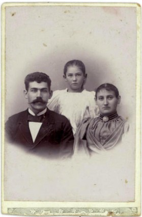 William Asta about eight years old and Laura