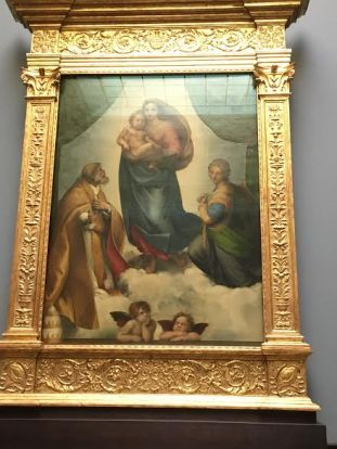 Raffael The Sistine Madonna c. 1512/13Old Masters' Picture Gallery in Dresden