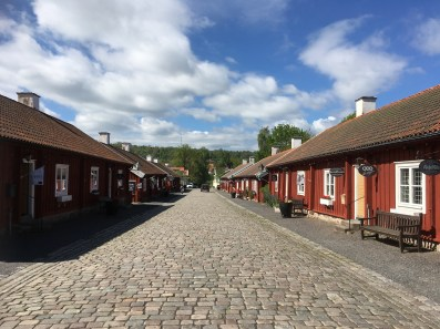 The historical street close to the Husquarna factory