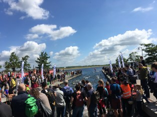 First goal accomplished for some at the Challenge Herning Triathlon