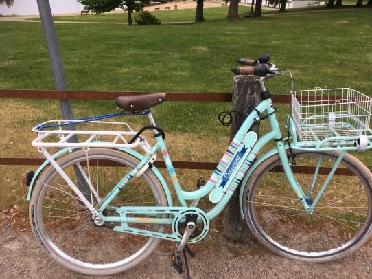 a Swedish bike at the hostel at Vaxjo
