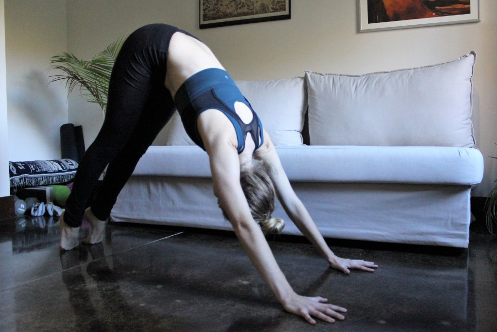 Downward Facing Dog Variation