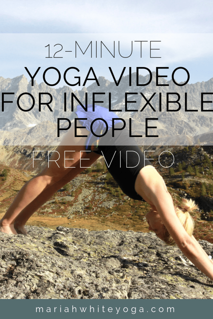 Yoga Video for Inflexible People
