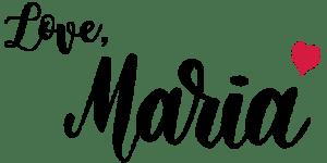 Maria's signature