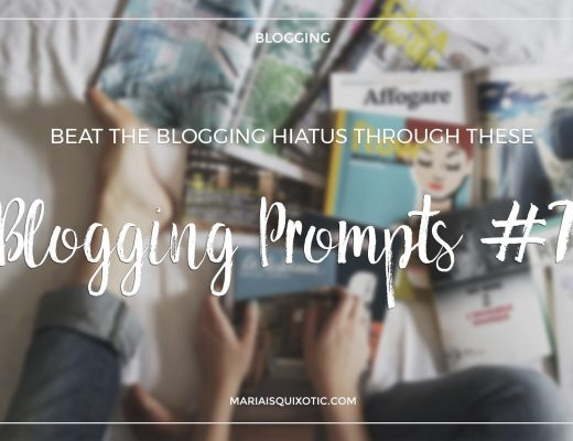Blogging Prompts 7