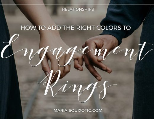 How To Add The Right Colours To Engagement Rings