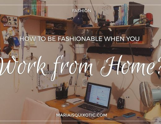 How To Be Fashionable When You Work At Home