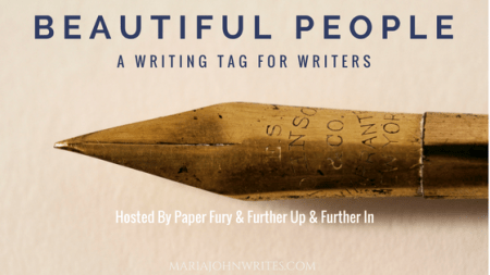 Writing Tag Questions: Beautiful People by Paper Fury & Further Up & Further In - Writer's Tag