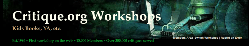 A review of critique and critters writing workshop