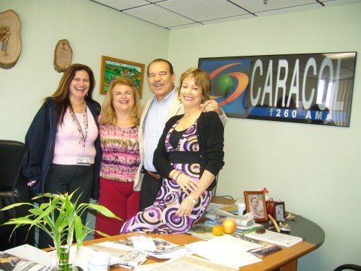 Eva Feld Miami Caracol Radio