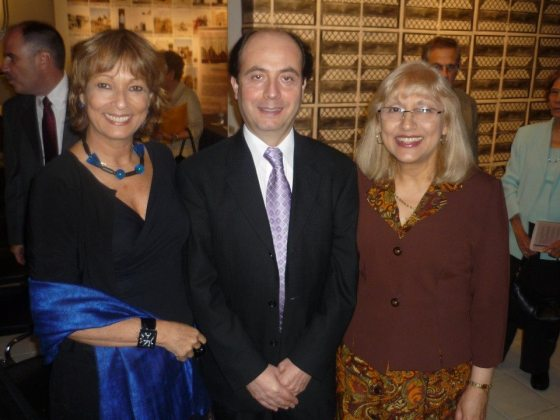 Maria Juliana, Patricio Palacios y Maricel Mayor Marsán