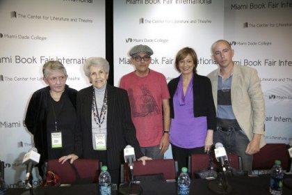 Magali Alabau, Amelia del Castillo, Néstor Díaz de Villegas, María Juliana Villafañe y Carlos Pintado