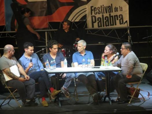 Justin Torres, Daniel Alarcón, José Ovejero, Mayda Colón