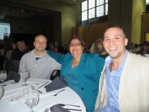 Dr. Mykola Polyuha,  Dr. Amarilis Hidalgo de Jesús  and Andrew Heiley