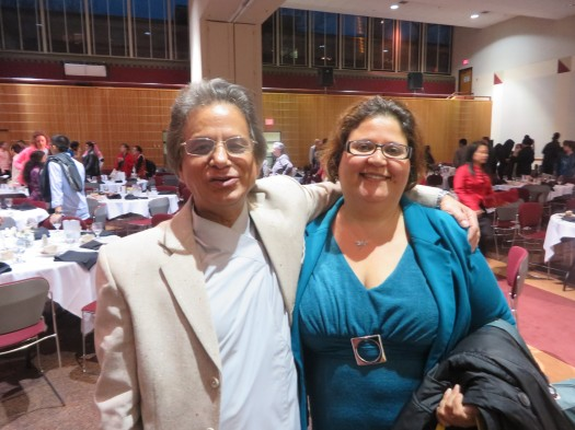 Dr. Sharma and Dr.Amarilis Hidalgo de Jesús