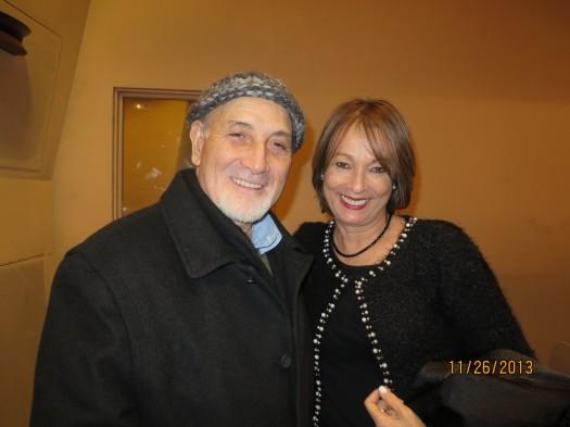 María Juliana Villafañe y el escritor Hilario Martínez Nebreda