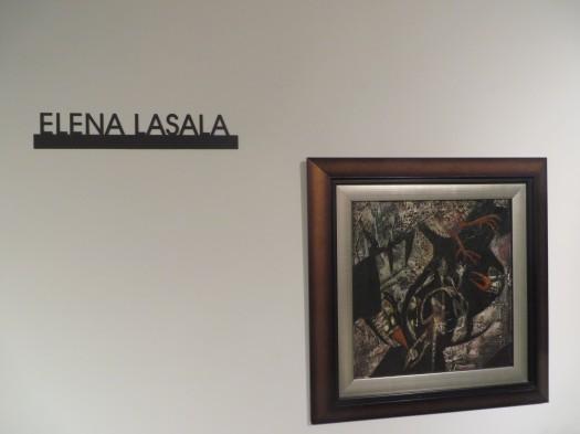 Una pintura de Elena Lasala