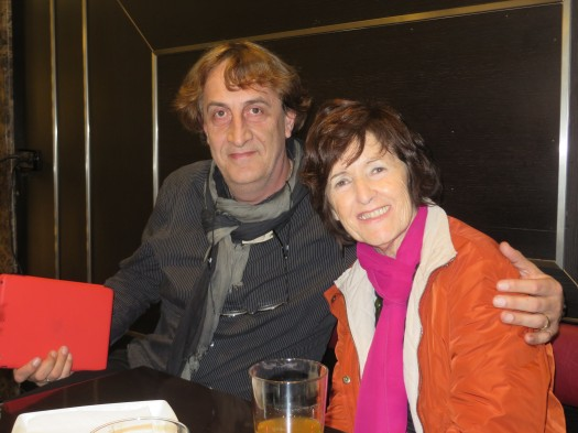 Los poetas Santiago Liberal y Blanca Sarasua