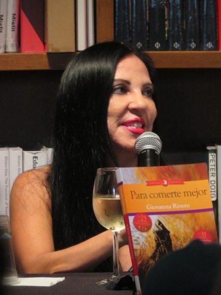 La escritora boliviana Giovanna Rivero.