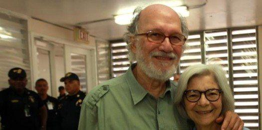 Jacobo Morales junto a su esposa Blanca Eró. Foto: Francisco Rodriguez
