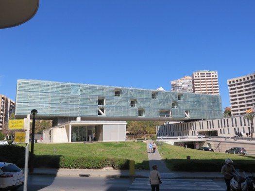 Edificio del Ayuntamiento de Benidorm.