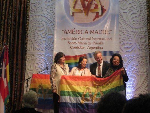 Elbis Gilardi, Anna Luna, Horacio Fernández e Irma Droz