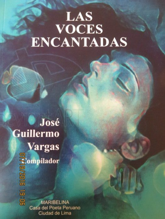 Portada Antología Las Voces Encantadas 2016